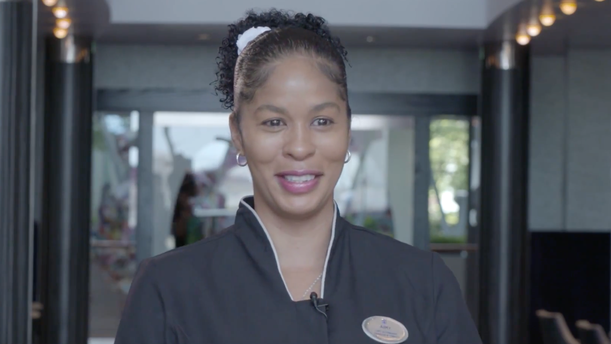 Aimy, Stateroom attendant - Trinidad
