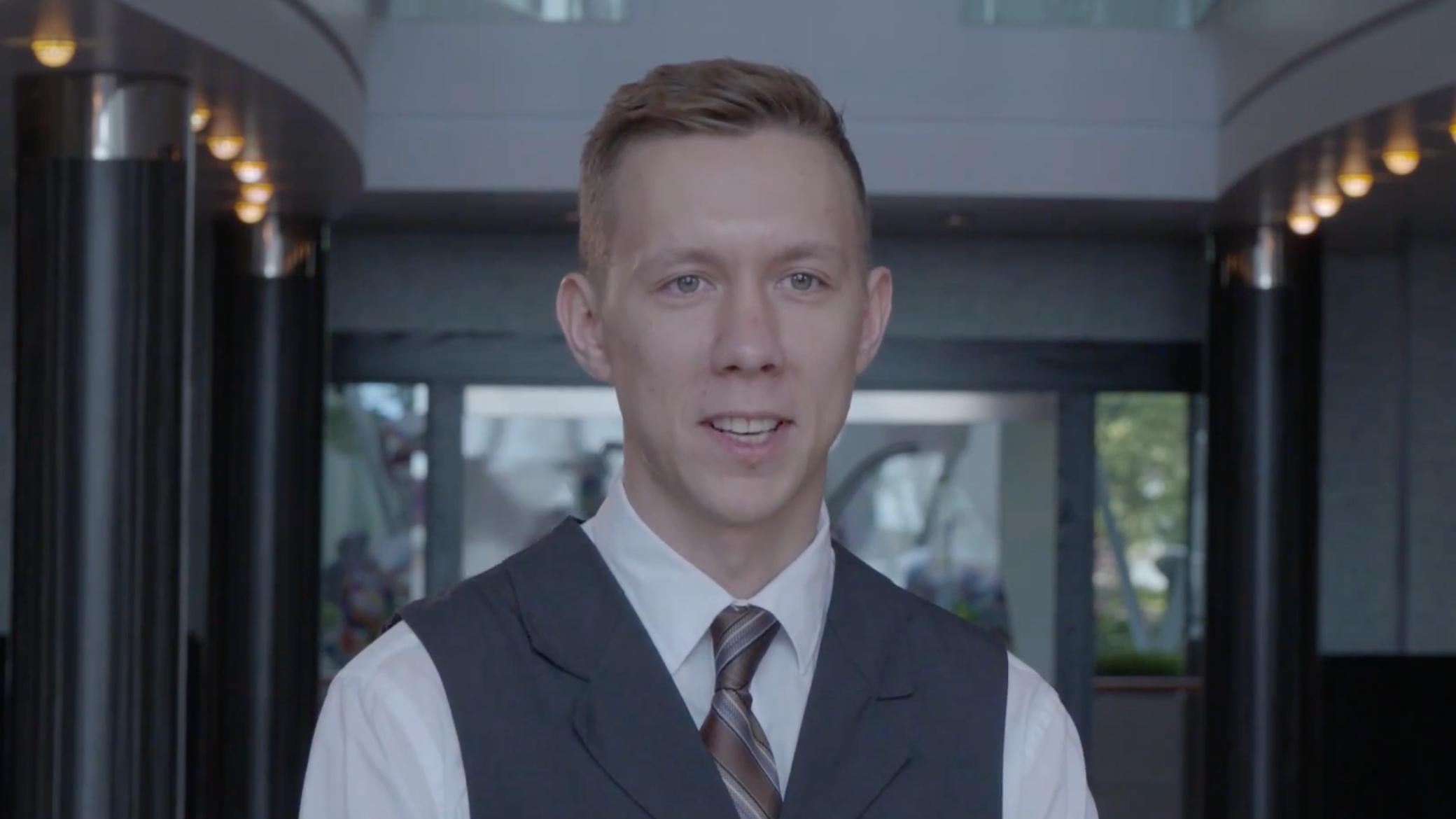 Yury, Waiter - Russia